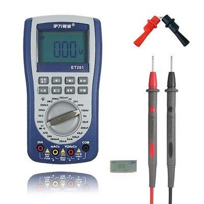 2in1 Et201 Handheld Storage Oscilloscope Digital Multimeter Intelligent Dmm