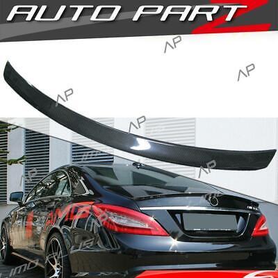Carbon Fiber Spoiler Flügel Lippe für Mercedes Benz CLS W218 218 AMG pz30