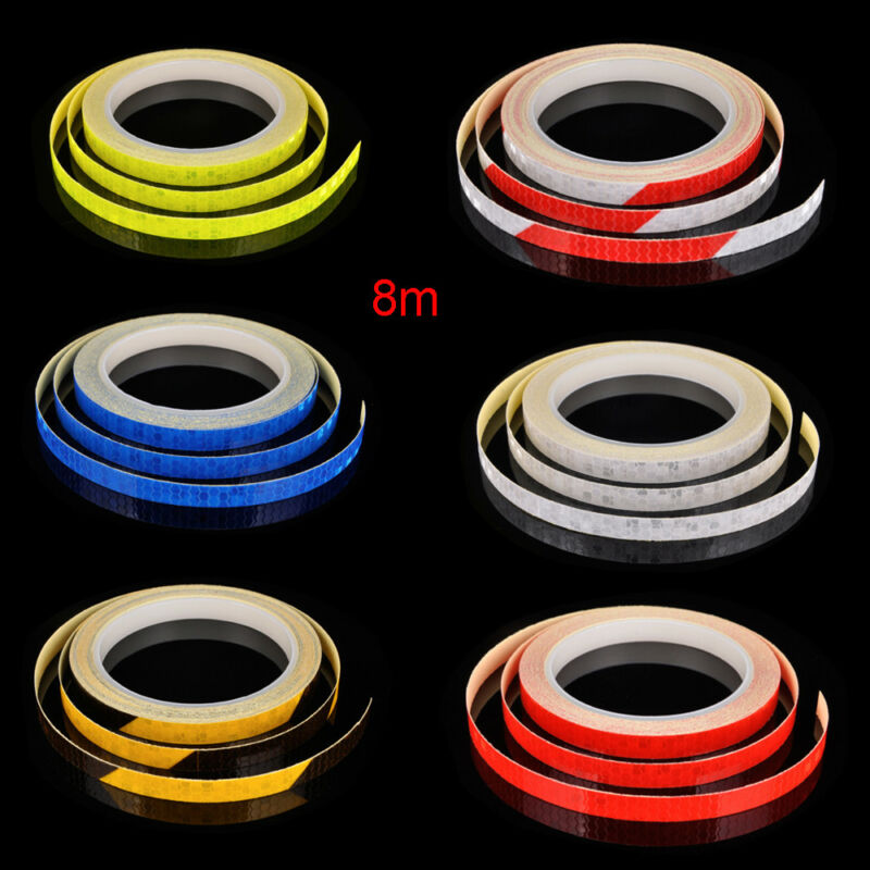 Klebeband reflektierende Aufkleber Fahrradreflektor-Sicherheitsfelge-Aufkleber