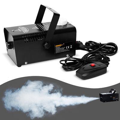 Nebelmaschine mit Fernbedienung Party Nebel Rauch Smoke Maschine - 400w Nebel Maschine