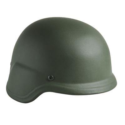 NcSTAR Level IIIA Ballistic Helmet w/Carry Case, Green, Large, BPHLG