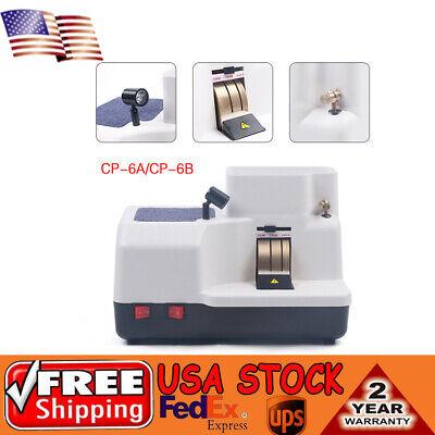 Us 110v Optical Hand Edger Manual Lens Grinder Three Wheel Cp-6a 120w Cp-6b 40w