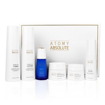 Atomy Absolute Cellactive Skincare 6 Pc Set Anti-Aging Korean Cosmetic K-Beauty