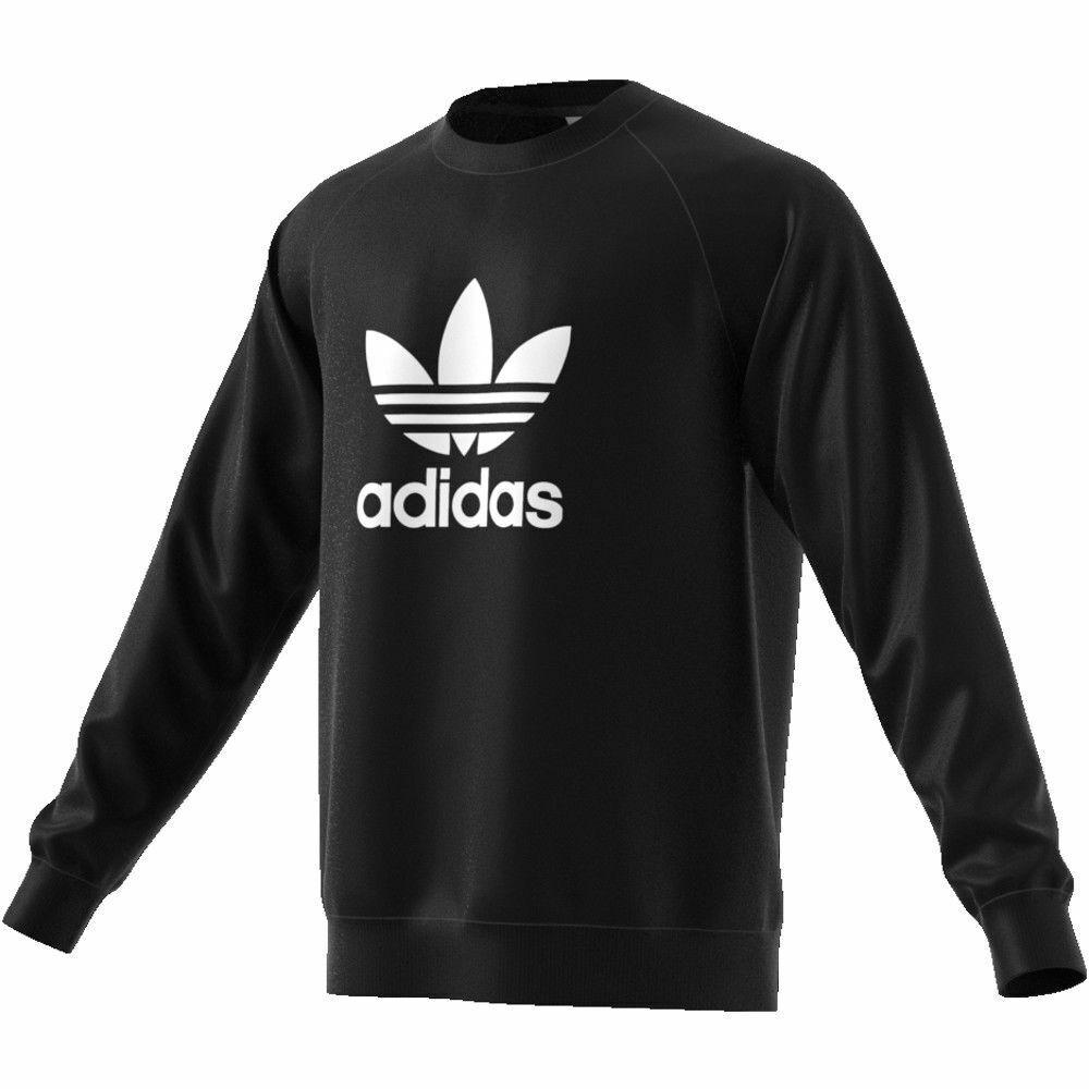 Felpa Uomo Donna Trefoil Maglia con logo Adidas trefoil