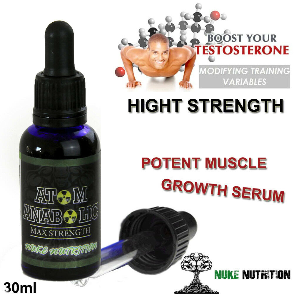 MASS GAINER - ATOM TESTOSTERONE BOOSTER DROPS  Enhances Stam