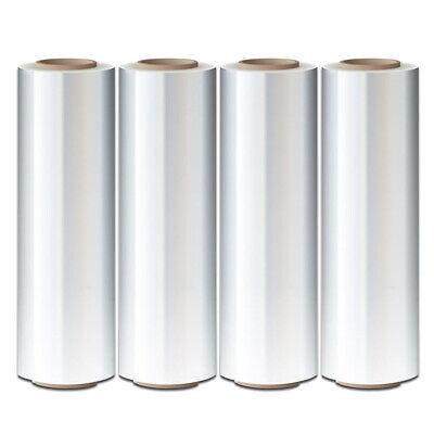4 Rolls Hand Stretch Plastic Film Shrink Pallet Wrap 18 X 1500 Ft Heavy Duty