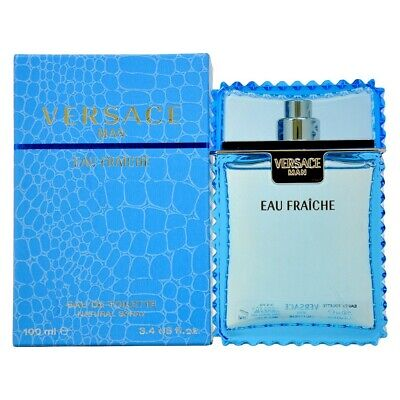 VERSACE MAN EAU FRAICHE 100ML EDT Spray New Sealed Boxed~FREE POST