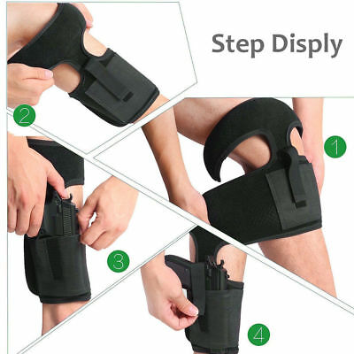 FITS BERETTA NANO ANKLE HOLSTER HIDDENCARRY W/MAGAZINE POUCH - USA MADE
