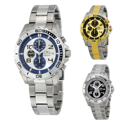 $77.99 - Invicta Signature II Chronograph Stainless Steel Mens Watch