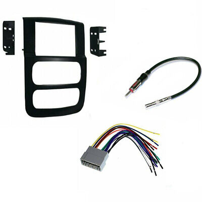 Double DIN car stereo Radio Dash Install Kit for Dodge RAM 1500  2002-2005