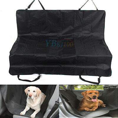 Waterproof Car Pet Dog Cover Mat Protector Hammock Back Seat Blackekt Travel SUV