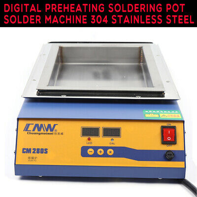 Digital Solder Pot Soldering Desoldering Bath Lead-free Titanium Alloy 2000w