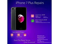 Apple iPhone 8/7/7 Plus/6s Plus/6/5/5s/5c iPad LCD Screen Digtizer Glass Repair Service Borehamwood