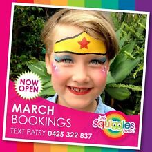 Professional Face Painter & Balloon Twister Brisbane Dakabin Pine Rivers Area Preview