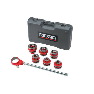 Ridgid 12-r 12 - 2 Capacity Npt Exposed Ratchet Threader Set 36475 New