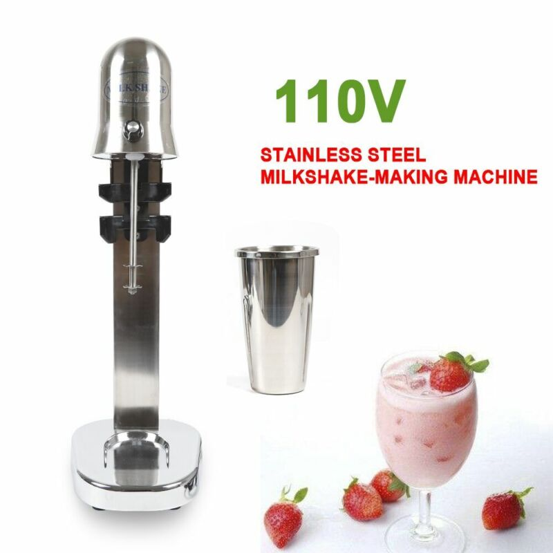 Milkshake Maker Single Head Drink Mixer Smoothie Blender280W 260x230x600mm 650ml