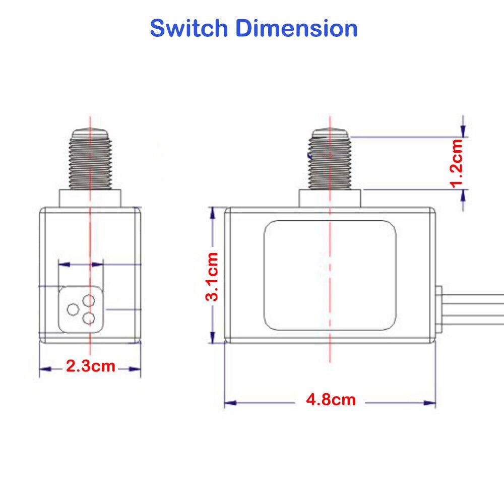 Zing Ear SNR-500RY LED Photocell Light Sensor
