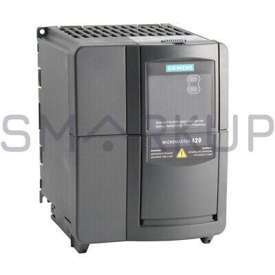 Used Tested Siemens 6se6420-2ud24-0ba1 Inverter Drive Micromaster 420 4kw 380v