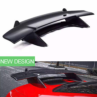 Carbon Fiber Car Rear Boot Spoilers Wings Black for Ford Mustang 2015/2016/2017