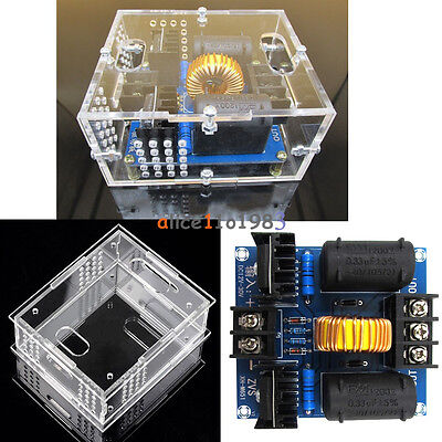 Zvs Tesla Dc Coil Marx Generator 12-30v High Voltage Power Supply Module Case