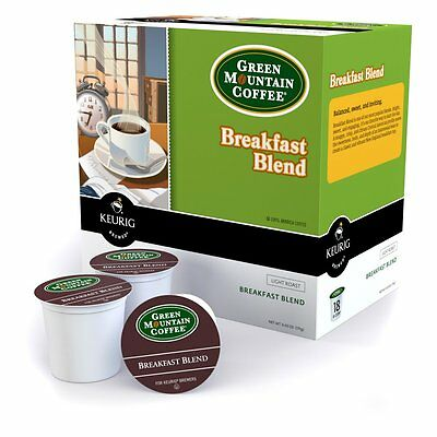 Keurig Green Mountain Coffee Breakfast Mix K-Cups - 108 pk.