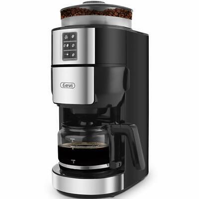 Coffee Maker with Built-In Burr Coffee Grinder Programmalbe Wet Coffee Machine