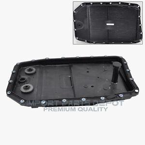 Jaguar-Auto-Transmission-Oil-Pan-Filter-Gasket-Plug-Assembly-Premium-227