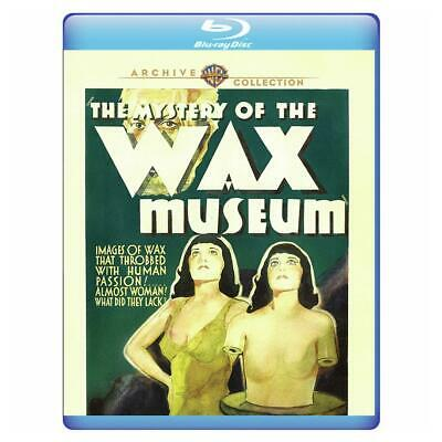 The Mystery of the Wax Museum 1933 (Blu-ray) Lionel Atwill, Fay Wray New!