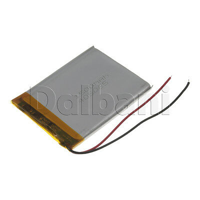 New 3.7V 1500mAh Internal Li-ion Polymer Built-in Battery 66x49x4mm 29-16-0684