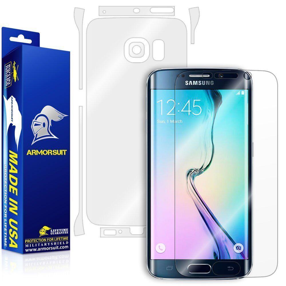 ArmorSuit Samsung Galaxy S6 Edge Screen Protector MilitarySh