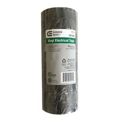 7 Mil Vinyl Electrical Tape - Black 10-pack