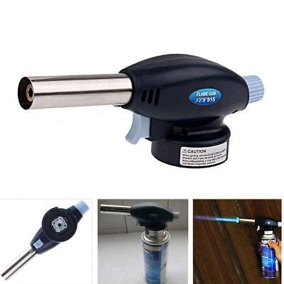 Portable Butane Gas Torch Welding Flame Blow Gun Outdoor Solder Lighter Burner