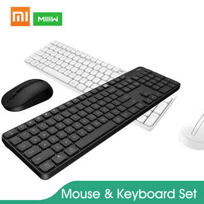 Xiaomi MIIIW Keyboard 2.4GHz Mouse Set Wireless 104Keys For Computer Laptop P8R6 2.4 Ghz Computer