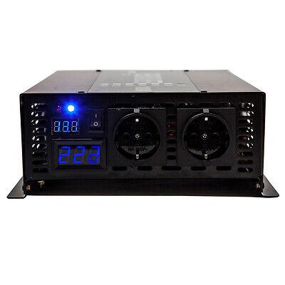12v Pure Sine Wave Inverter 1500w Power DC to AC Converter 230V Geman socket