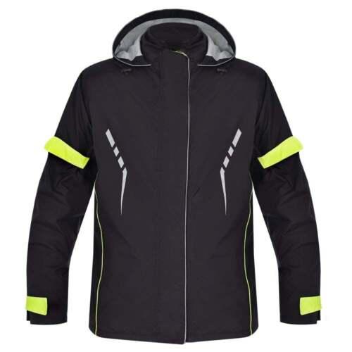 Oxford Mondial 1.0 Men/'s Long Waterproof Motorcycle Textile Jacket Black SALE