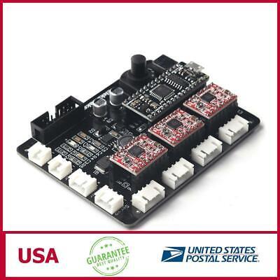 Eleksmaker Mana 3 Axis Stepper Motor Driver Board Controller For Diy Laser