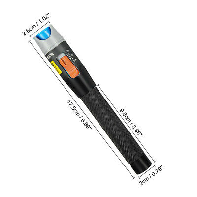 10 Mw Visual Fault Locator Fiber 650nm Vfl 10km Cable Test Equipment Tester