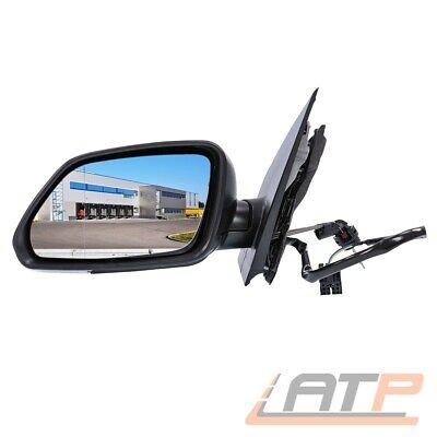 Außenspiegel Seitenspiegel links ab Lager lackierbar VW Polo 09 6R 06//09- Neu