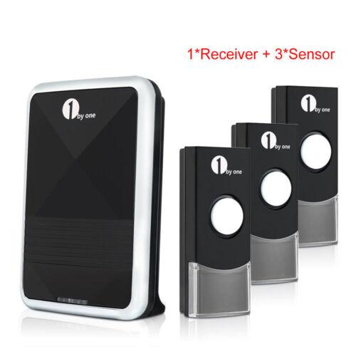 Купить 1Byone® - Wireless Battery Portable Digital DoorBell Chime Waterproof Remote Control LED