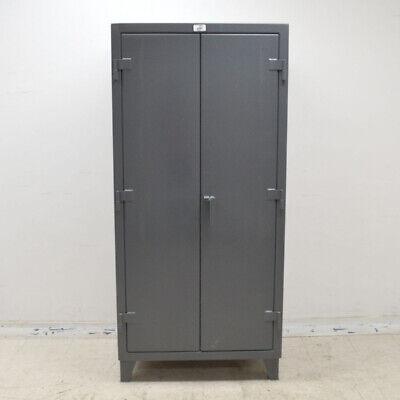Strong Hold 36-bb-2401g All-bin Gray Heavy Duty 36 X 24 X 72 Storage Cabinet