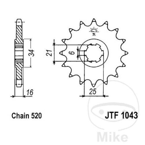 Chain DID 520VX3 Sprocket 14 Sprocket 39 STC Kymco 250