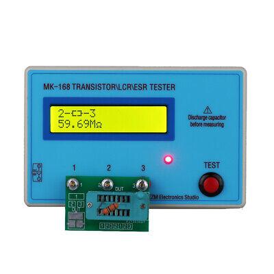 Mk168 Transistor Lcr Esr Tester Diode Inductance Capacitance Meter Pnpnpn B9h0