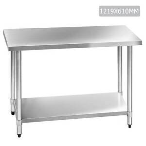 SALE:  Commercial 304 Stainless Steel Kitchen Work Bench Table 1 Melbourne CBD Melbourne City Preview