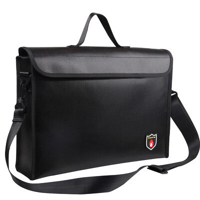 Fireproof Waterproof Document Bag,Fire Safe Shoulder Bag,Briefcase Storage Bags