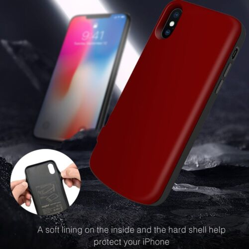 For iPhone X Xs New 6000mAh Wireless Magnetic Charging Backu