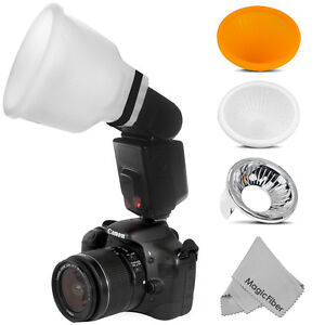 Cloud Lambency Flash Diffuser & Dome for Canon 580EX II 430EX II Speedlite