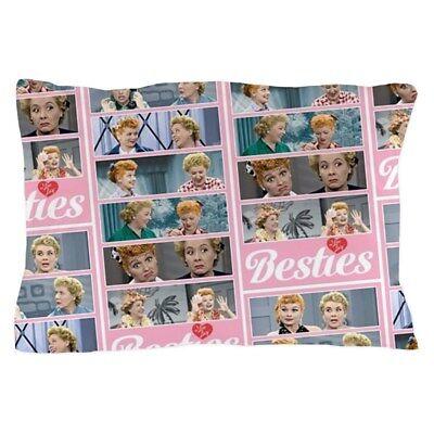 CafePress I Love Lucy: Besties Pattern Pillow Case