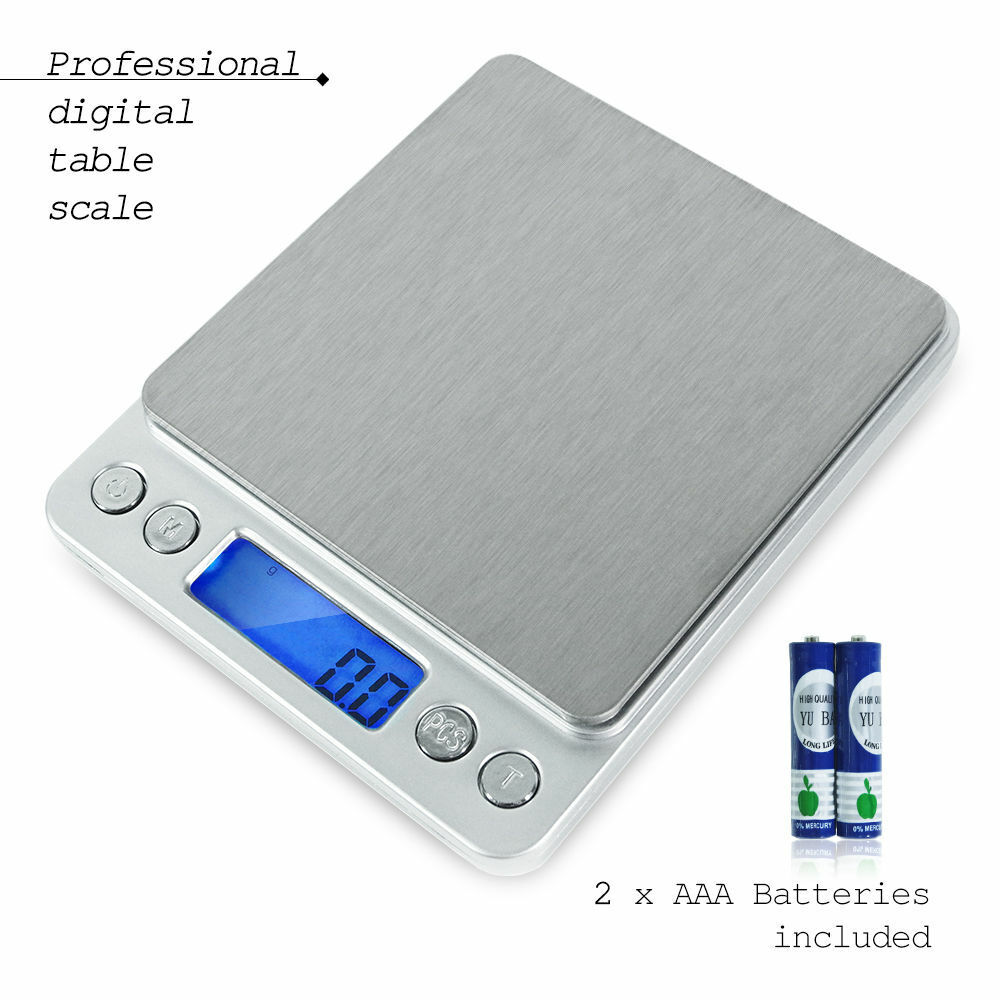 2000g1764oz LED Smart Digital Electronic Kitchen Food Diet Postal Scale Weight