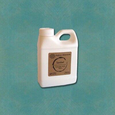 Acid stain for interior flooring sample size Sanbel light blue 16oz Blue Acid Stain