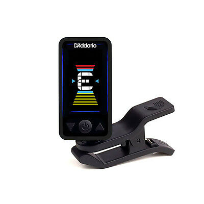 Planet Waves Eclipse Clip-On Chromatic Headstock Guitar Bass String Tuner Black